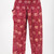 Elephants Prints Women's Harem Pants in Red