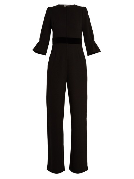 Goat jumpsuit wool black
