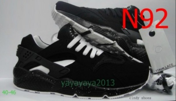 shoes nike air huarache black running spotty mono clothes fashon nike air force huarache huarache huarache huarache huarache white trainers running shoes casual black and white nike air jordan