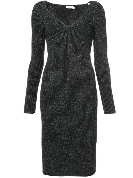 A.L.C. dress metallic women grey