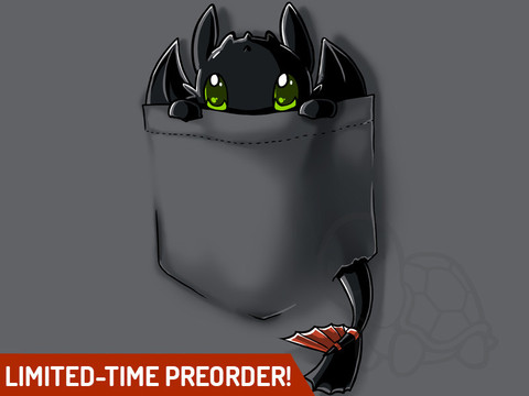 Pocket fury – teeturtle new design pre