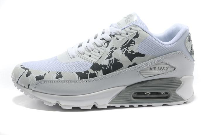 Shop0784f nike air max 90 hyperfuse pre em fur white grey [shop0784f]