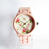 jewels,freeforme,watch,style,floral watch,freeforme watch,womens watch