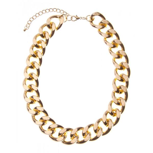 Curb Chain Necklace – Bauble Bop
