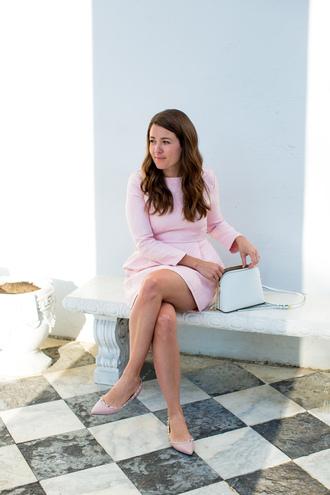 sequins and stripes blogger dress bag jewels