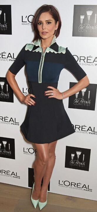 dress cheryl cole pumps short dress
