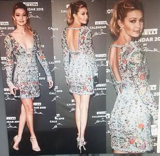 dress gigi hadid cute dress sequin dress want dress cute clothes dressy