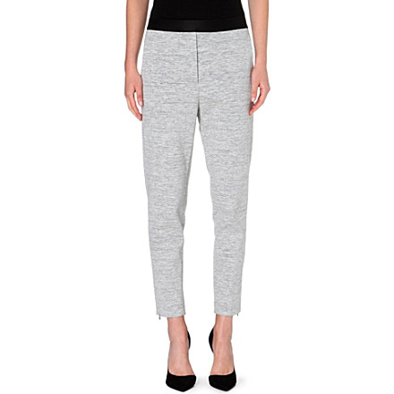 SANDRO - Pretenders cotton-blend leggings | Selfridges.com