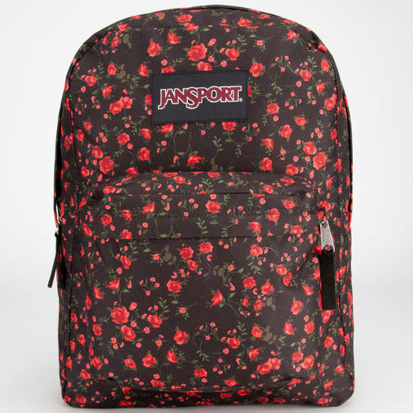 floral bag backpack jansport