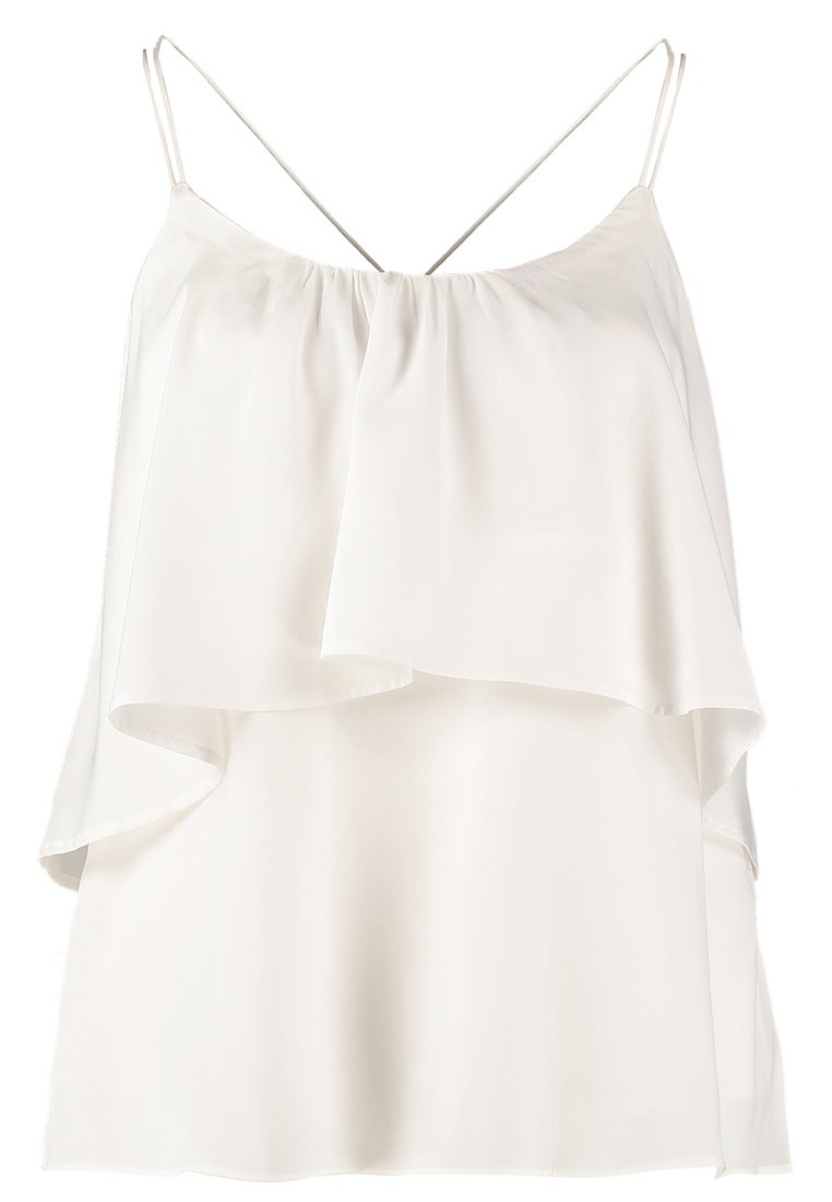 Vero Moda MIRROW - Bluse - snow white - Zalando.de