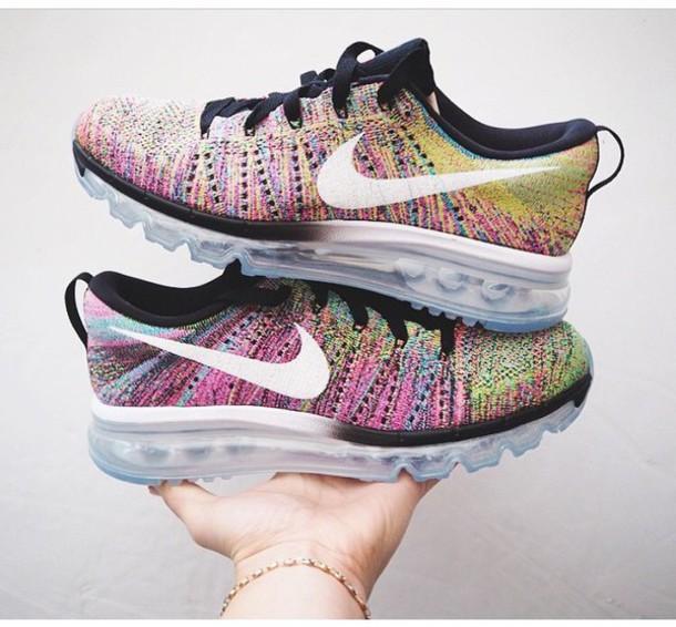 Nike AIR MAX 2014 Womens Running Shoes - Purple/white