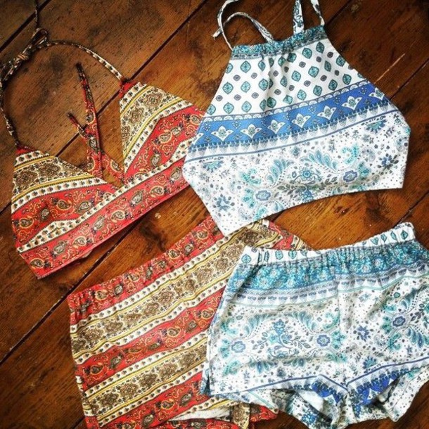 tank top shorts boho patterns shorts boho shirt romper crop tops printed shorts two-piece two-piece shirt blue orange boho gypsy tribal pattern hippie swimwear blue swimwear white swimwear patterned swimwear boho chic hair accessory coored two-piece paisley aztec crop tops halter top summer beautiful festival top festival shorts festival festival outfit festival cute bikini coachella bohemian jumpsuit red set blue set clothes nice croptoptshirt set two-piece set printed two piece hippie shorts hippie crop top crop tops indie two-piece boho pants top outfit matching shorts and top bohemian blue co ord shorts high neck summer tumblr co ord boho swimwear swimwear summer outfits summer shorts summer top