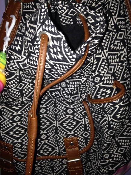 tribal pattern bag aeropostale