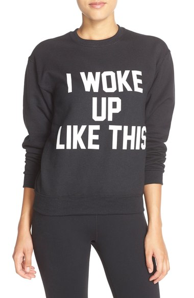 Private Party 'I Woke Up Like This' Sweatshirt | Nordstrom