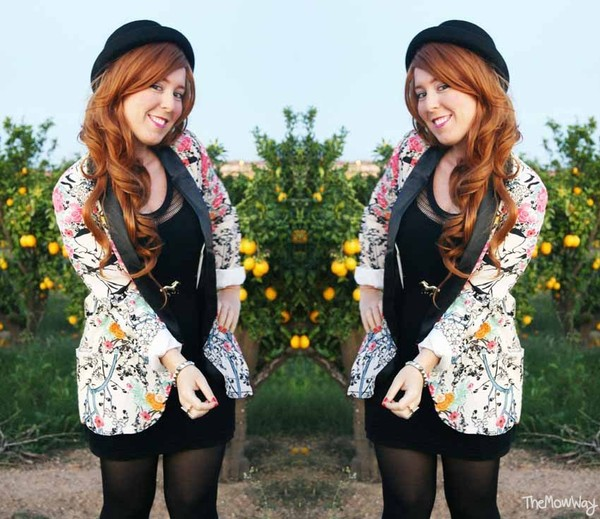 jacket persunmall floral floral