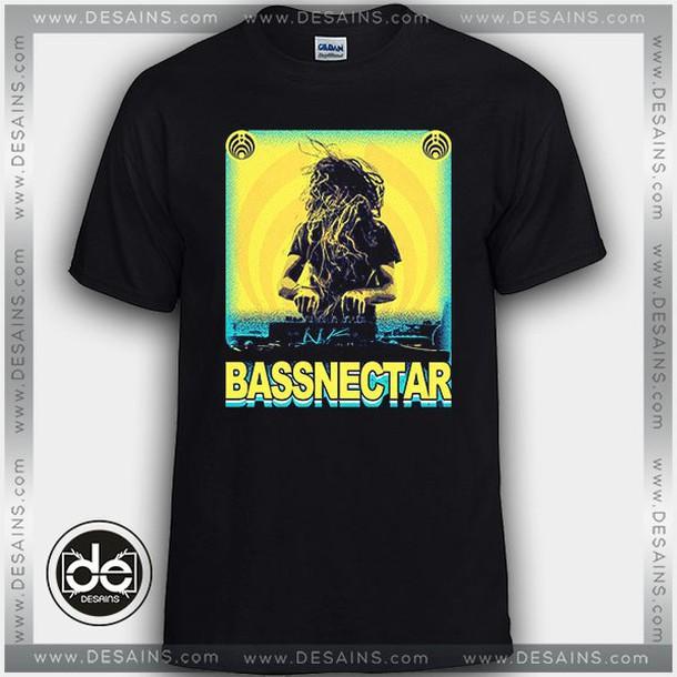 t-shirt music band tshirts bassnectar logo shirt tees