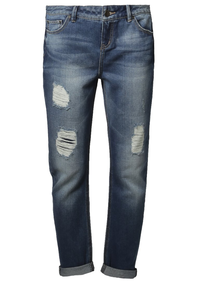 Even&Odd Jeans Relaxed Fit - blue denim - Zalando.de