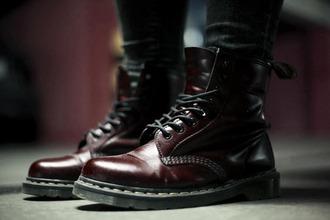 dcmartens boots british rock large classic musthave dream docmartens martens drmartens burgundy