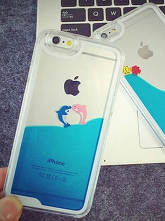 phone cover phone iphone cover iphone case iphone 5 case iphone pink dolphin sea creatures sea