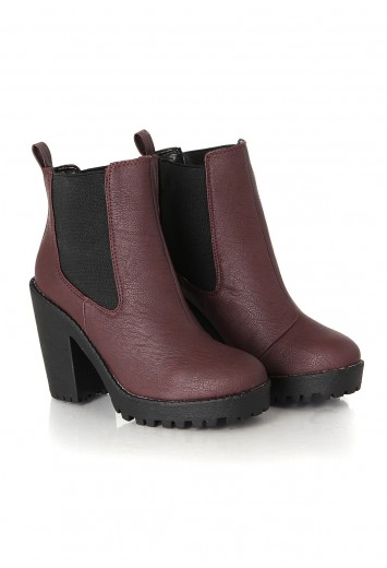 Aleksus Wedges With Black Outsoles - Footwear - Boots - Missguided