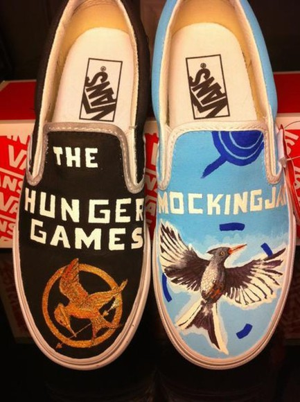vans shoes the hunger games mockingjay