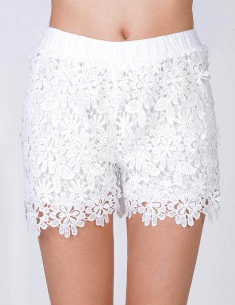 Connie vintage lace shorts