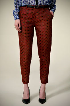 Boutique Tamsin Brocade 7/8th Trousers at boohoo.com