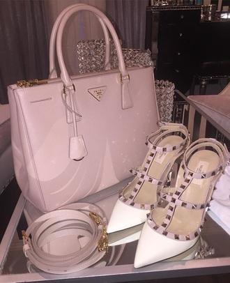 bag prada prada bag pink bag