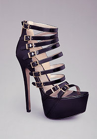 bebe | Cecily Caged Club Shoes - Sale