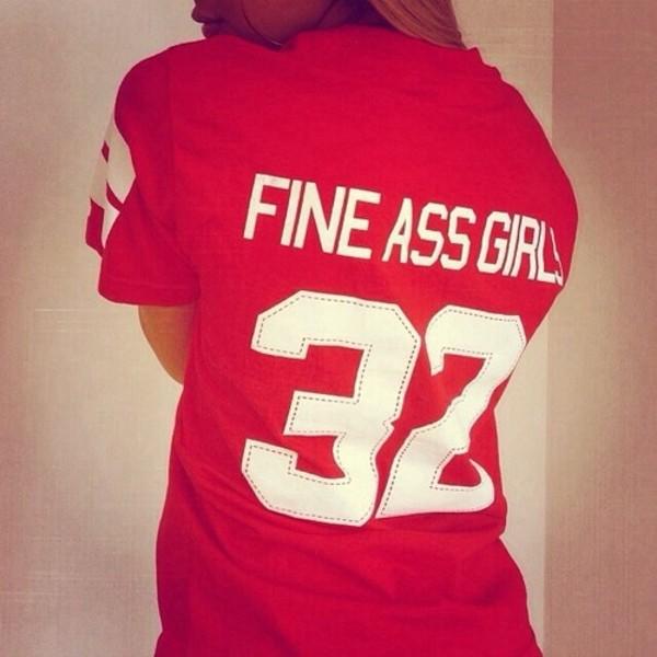 shirt fine ass girls