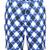 Blue Monster ProCool Golf Shorts (Blue/Black/White)