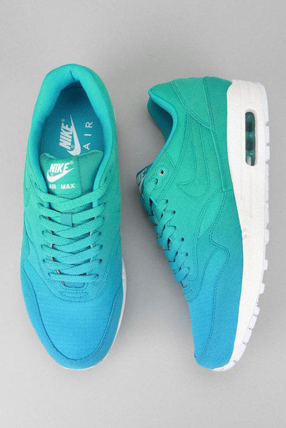 newest a5b3d c87dc shoes blue green white nike air max lovely air max ombre tumblr air max  swoosh purple