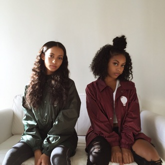 jacket burgundy army green tumblr art hoe windbreaker melanin burgundy jacket green jacket