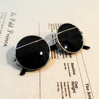 sunglasses black round frame glasses girl boy menswear women round frame glasses round frame sunglasses
