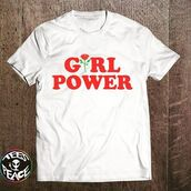 t-shirt,tees2peace,girl,girly,girly outfits tumblr,girl power tee,girls power,girl power tshirt,feminine,feminist,beyonce,beyoncé shirt,beyonce tshirt,the powerpuff girls,power of woman,wonder woman,woman top,bad girls club,bad gal,etsy,tumblr girl