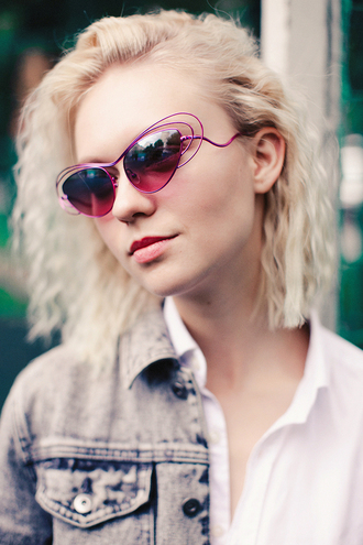 lena's perfection blogger sunglasses cat eye