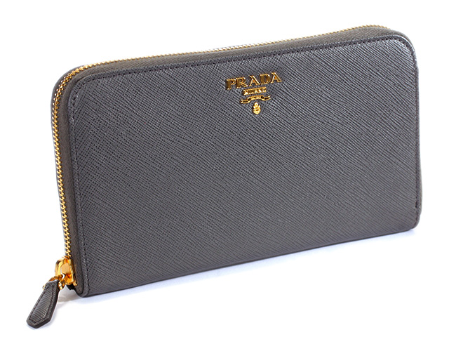 c4b0fe1edfddb4 Brand House Mon Cherie | Rakuten Global Market: PRADA long wallet 1 m 0506  ARGILLA Prada Womens mens zip around wallet SAFFIANO METAL ZIPPY WALLET  MERCURIO ...