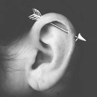 jewels arrow earring grunge jewelry