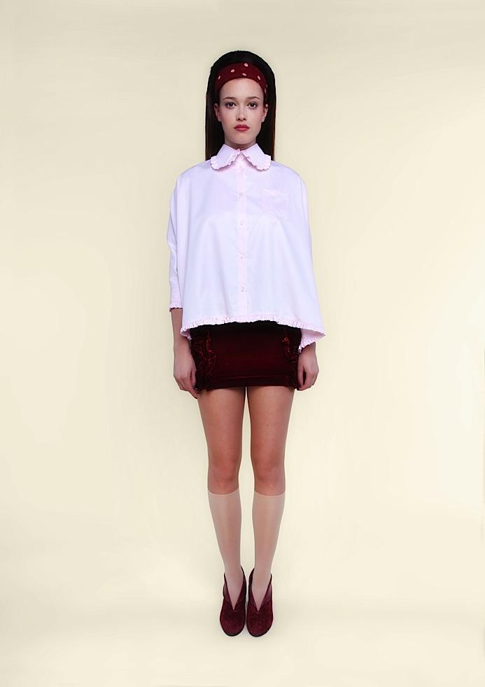 Ysterike — ninon chemise baby pink