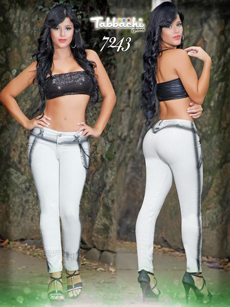 Medium Rise Tabbachi Jeans 7243 | Yallure