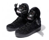 sneakers,shoes,jeremy scott,adidas,gorilla