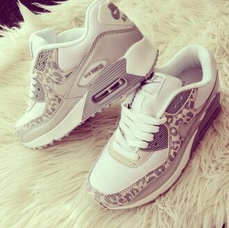 shoes nike beige leopard cheetah sneakers training air max grey printed urban nike air