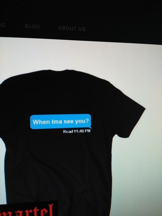 t-shirt quote on it black t-shirt