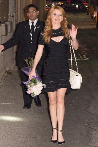 dress black bella thorne little black dress