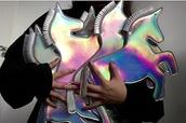 bag,metallic,unicorn,style,fashion,perfect,metallic clutch
