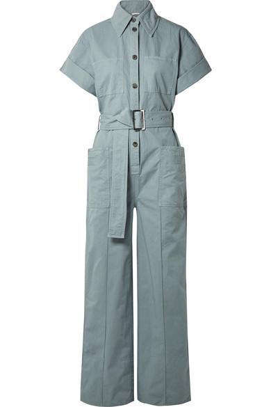 Acne Studios - Phyllis cotton-twill jumpsuit