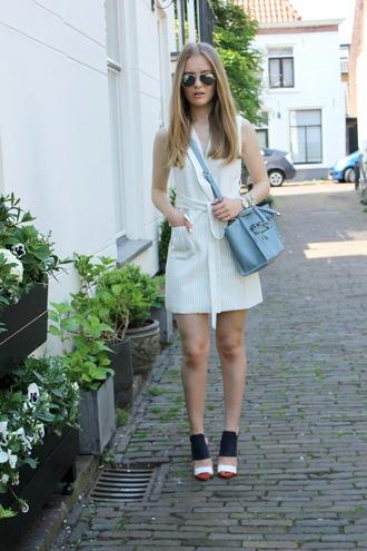 miss confidential blogger jacket dress bag shoes