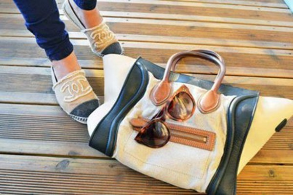 shoes bag sunglasses