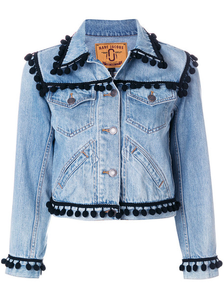 Marc Jacobs jacket women cotton blue