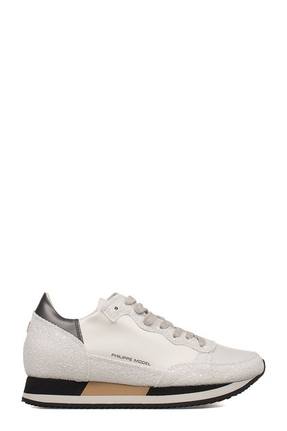 Philippe Model sneakers leather white shoes